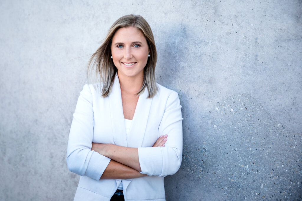 Modernes Businessfoto Frau